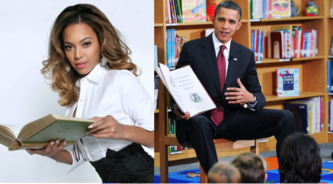 Tough call: Librarian to the President -- or to Beyoncé?